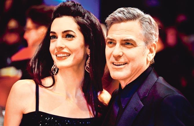 Джордж Клуни собирается менять подгузники