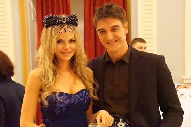 Станислав Бондаренко и жена Аурика Алехина