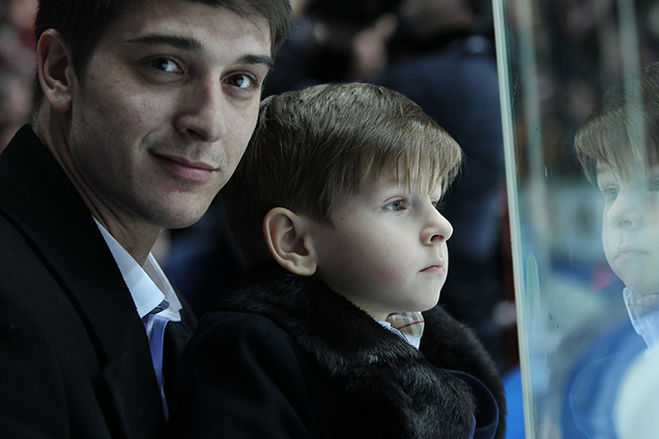 Станислав Бондаренко со своим сыном