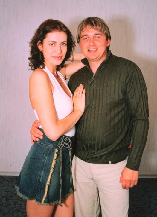 Анна Ковальчук вместе с мужем Анатолием Ильченко