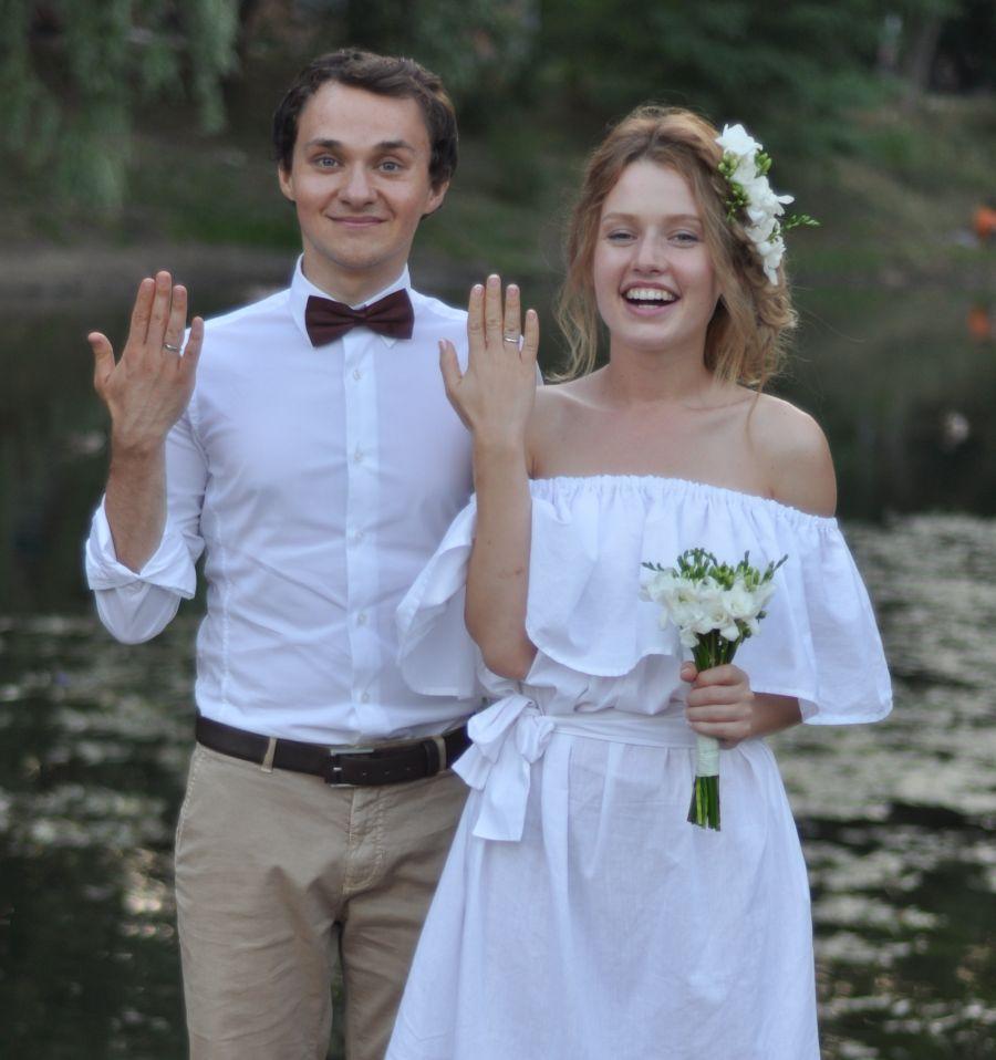 Валентина Войтенко и Константин Войтенко свадебное фото